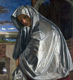 """Easter! This is my favorite painting of Mary Magdalene. It is in The London National Gallery of Art. """" The landscape background appears to represent Venice and its lagoon."""" The Artist is Giovanni Girolamo Savoldo. http://www.youtube.com/watch?v=8aEH974RuPk Jesus said, """"Mary!"""" She turned and the whole world turned with her!"""" In this Documentary; """"There's something about Mary."""""""