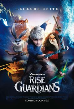rise of the guardians | Poster of DreamWorks Animation' Rise of the Guardians (2012)