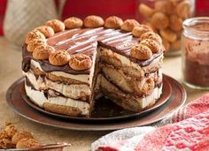 Tiramisu cake  One slice of this cake and you'll be living la dolce vita – the sweet life! It's quick to assemble, then needs six hours in the fridge, so it's perfect to prepare the night before you entertain.