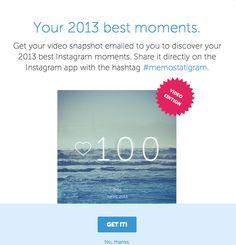 Debes ingresar al sitio web del servicio e iniciar sesión para así acceder al video. El archivo llega a tu correo, lo bajas y compartes desde el móvil con la etiqueta