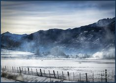 Colorado Misty Morning Photograph