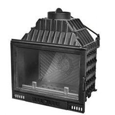 Wkład powietrzny Maxflam W-700 14-18 kW STAND z szybrem - http://www.wkladykominkowe.net.pl/produkt/wklad-powietrzny-maxflam-w-700-14-18-kw-stand-z-szybrem #fireplace #kominki