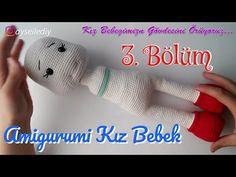 Amigurumi Tutorial, Amigurumi Toys, Handmade Toys, Baby Toys, Fashion Dolls, Techno, American Girl, Youtube, Crochet Hats