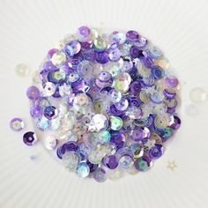 Sequin Crafts, Card Making Supplies, Art Supplies, Simon Says Stamp, All That Glitters, Periwinkle, Clear Stamps, Little Things, Color Mixing