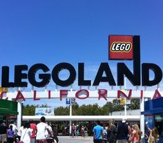 Legoland! Really cool because almost everything you see is made out of legos!!