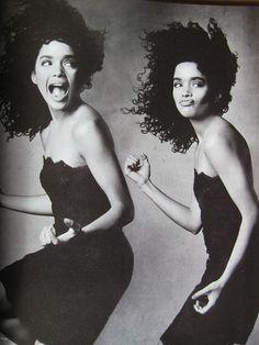 Where did she go? Come back. Lisa Bonet, Vogue.