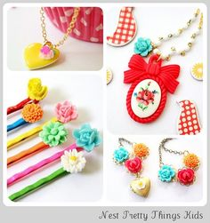 love this kid accessories handmade from Nest Pretty Things Kids
