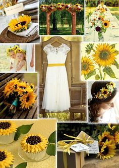 Are you planning a Sunflower wedding theme? weddingnewsday has tons of inspiring Sunflower wedding photos showcasing the best Sunflower wedding ideas and decors. Browse decorations,