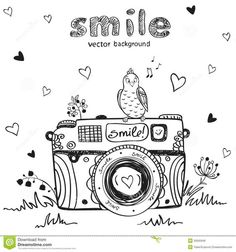 poloroid clipart black and white - Google Search: