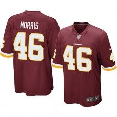 Nike Mens Washington Redskins Alfred Morris Jersey 46 Game Team Color Red  Redskins Football c4dfa8067