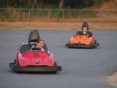 Go-Kart fun just down the street from Yarmouth Country Cabins! Great fun for everyone in the family!