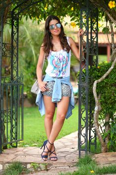 Look do Dia: T-shirt & jeans