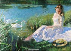 """""""Near Pond"""" (2009) by Vladimir Volegov."""