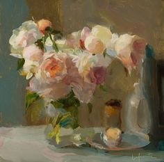 like this painter a lot...  soyouthinkyoucansee:  flowers stylish serendipity ~ Christine La Fuente