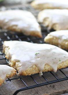 Coconut Lime Scones - FoodBabbles.com