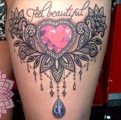 Jewel tattoo garter                                                                                                                                                                                 More