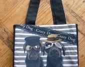 """sac cabas original """"kéké dogs"""" kali-créatrice-original : Sacs à main par kali-creatrice-original"""