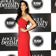 Katrina Kaif at the Vogue Beauty Awards 2016 in Mumbai.