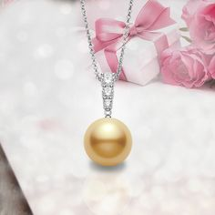 Gifts of gold. #Mikimoto #GiftOfALifetime #GoldenSouthSea