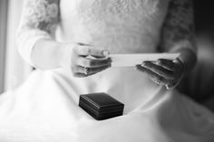 Letter and gift from the groom to his bride
