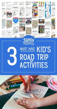 3 Must Have Kid's Road Trip Activities- #Longcarrides with the #family can be a #fun #adventure for everyone, if you take the time to do some #planning, first.  Here are 3 great #ideas for keeping your #kids or #toddlers entertained while on the road. #Forteens, have a dance party in the car! For the little ones, check out some awesome #printables, to bring with you! Your next family #roadtrip is sure to be a blast!