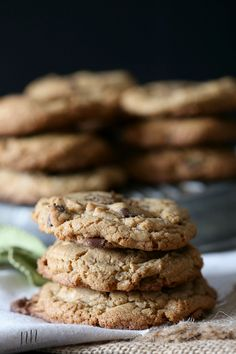 Espresso Salted Chocolate Chip Cookie by Nutmeg Nanny