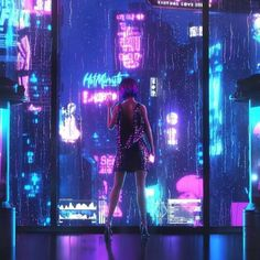 A genre of science fiction and a lawless subculture in an oppressive society dominated by computer technology and big corporations. Cyberpunk City, Ville Cyberpunk, Cyberpunk Kunst, Cyberpunk Aesthetic, Neon Aesthetic, Futuristic City, Cyberpunk 2077, Fantasy Landscape, Fantasy Art