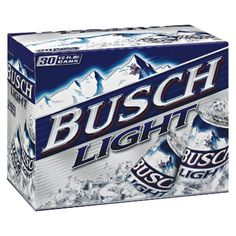I'm learning all about BUSCH LIGHT 30PK CANS at @Influenster!