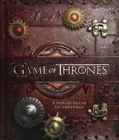 Game of Thrones Pop-Up Book So Cool!
