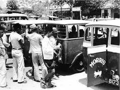 Oplet Jakarta 1950an