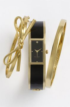 kate spade new york 'idiom - heart of gold' ultraslim bangle | Nordstrom