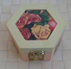 decoupage box I made