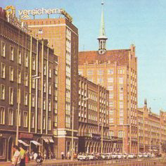 Rostock, Lange Straße, DDR