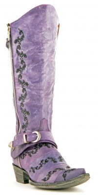 Old Gringo Aina Stribo Boots in Violet via @Chris Cote Cote Cote...