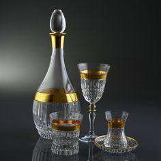 62 PEÇAS CONJUNTO DE COPOS DE VIDRO - Ezgi Gold - Produtos Importados da Turquia - Loja VirtualProdutos Importados da Turquia – Loja Virtual