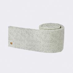 Mint Dot Bed Bumper