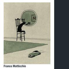 Franco Matticchio, artista italiano. Photo And Video, Instagram, Videos, Gatos, Cat Illustrations, Artists