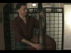 Learning how to play slap bass - Lesson 3 Rockabilly, Bass, Channel, Learning, Youtube, Studying, Teaching, Youtubers, Lowes