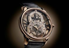 Jaquet Droz - Grande Seconde Skelet-One Tourbillon | Time and Watches | The watch blog Alain Silberstein, Movement Architecture, Favre Leuba, Tourbillon Watch, Apple Watch 1, Watch Blog, Hand Watch, Elegant Watches, Mechanical Watch