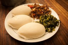 Try Nshima | Livingstone's must try dish #food #Zambia