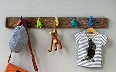 Dinosaur Coat Rack