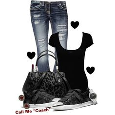 """Call Me ""Coach"""" by modelmaterialgirl22 on Polyvore"