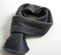 ManMade Top Ten: Men's Scarf Patterns | Man Made DIY | Crafts for Men