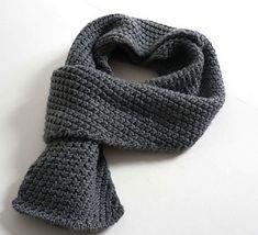 ManMade Top Ten: Men's Scarf Patterns | Man Made DIY | Crafts for Men