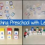Teaching With Legos - Milk and Cookies