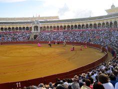 Plaza de Toros de la Maestranza - Sevilla - Emilio's home arena #PasoDoble