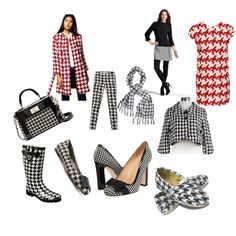 Houndstooth Crazy!, created by magnoliagirl on Polyvore