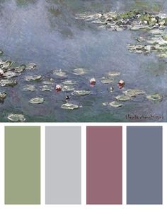 Waterlilies, Art Print by Claude Monet