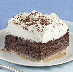 Chocolate Tres Leches Cake: It's easy to give the classic Mexican tres leches cake a chocolate twist by substituting cocoa powder for some of the flour. The result is a cool, creamy chocolate treat, a bit like a chocolate icebox cake. Via FineCooking