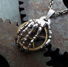 Steampunk Hand Pendant